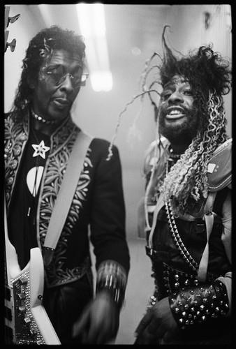 Bootsy Collins and George Clinton    1988