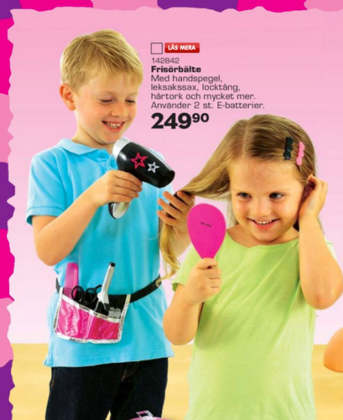 laughingsquid:  Swedish Toy Company Publishes a Gender-Neutral Holiday Toy Catalog