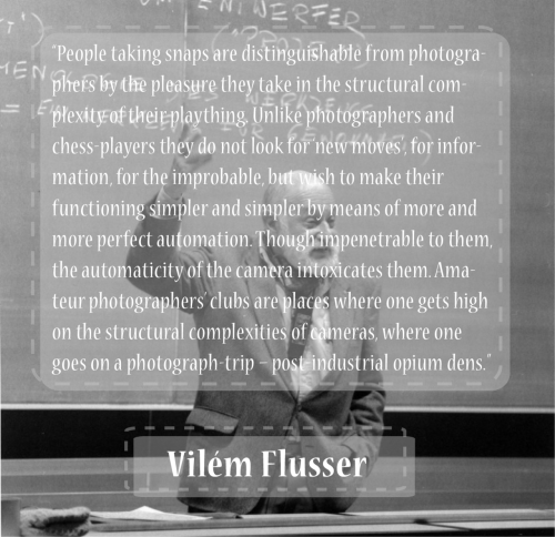 "tiagovitoria:  Vilém Flusser on ""Towards a Philosophy of Photography""."