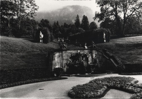 Out Back, Linderhof Palace, Near Ettal, Germany.