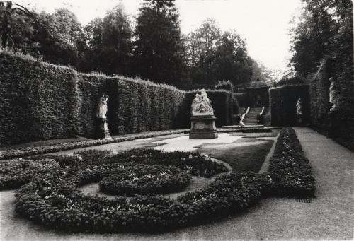 Garden, Linderhof Palace, Near Ettal, Germany.