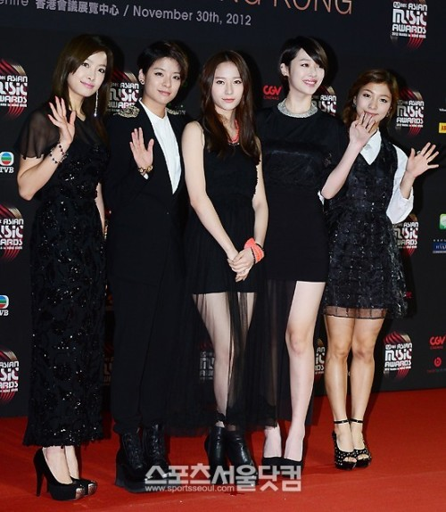 2012: Mnet Asian Music Awards - F(x)