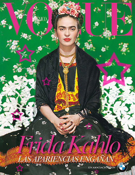 Frida Kahlo/ VOGUE Mexico/ 2012