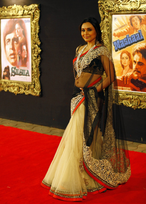 Rani Mukherji at the Grand Premiere of Jab Tak Hai Jaan