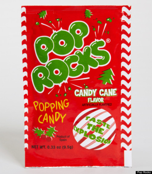Candy Cane Pop Rocks! The perfect stocking stuffer or too much? What do you think?