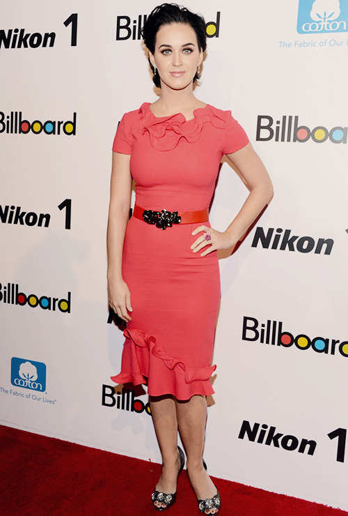 Katy attends Billboard's Women In Music Luncheon - 11.30.12