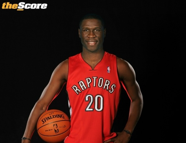 Photo: Mickael Pietrus In A Raptors Jersey. #RTZ