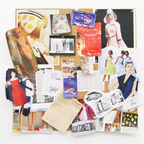 A peek at our Stylist Annie's inspiration board!