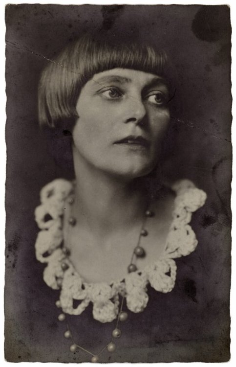 archives-dada:  Portrait of Emmy Hennings