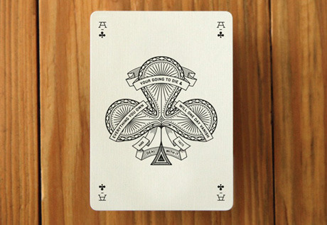 Perfect for your weekend plans: Misc. Goods Playing Cards