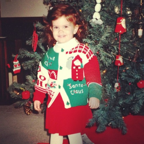 Happy holidays #christmas #sweater #oldschool #kid #kewt