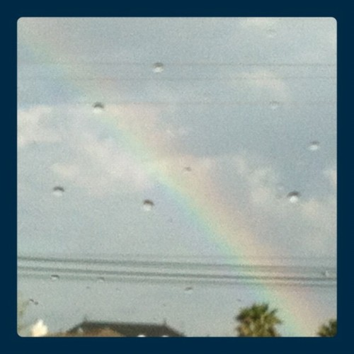 via @frametastic all storms bring rainbows… #rainbow #nature