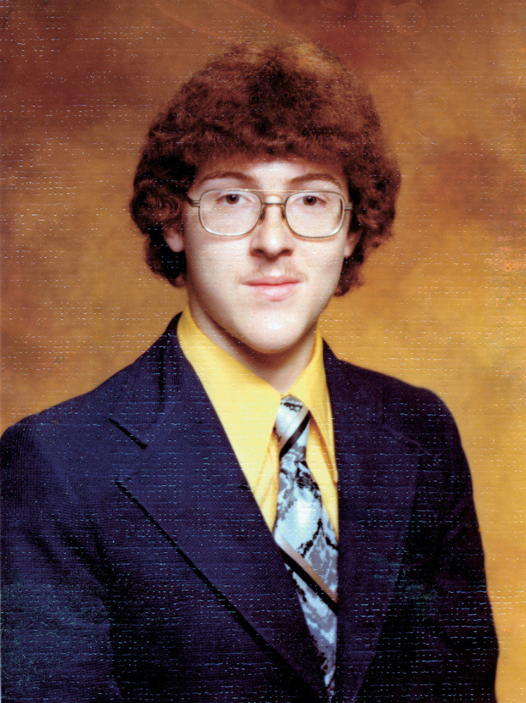 iheartchaos:  This is Weird Al Yankovich's senior high school year book photo Looks pretty much exactly as I would have envisioned it.