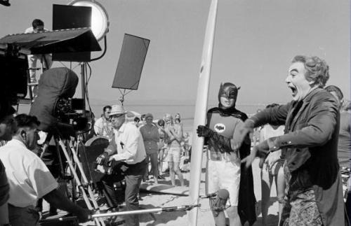 Behind The Scenes photo on the set of Batman (1966)