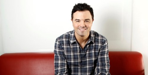 Seth MacFarlane will guest star on The Simpsons  And he will sing.