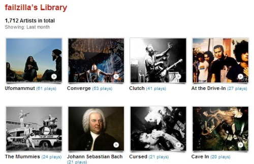 my last.fm for November 2012