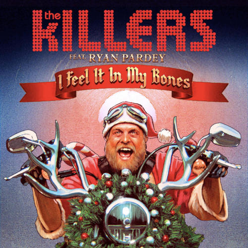 Our new Christmas song, 'I Feel It In My Bones', will be available via @iTunesMusic on 12.04.2012 #IFeelItInMyBones can be heard tomorrow via @RollingStone at 10am PST.