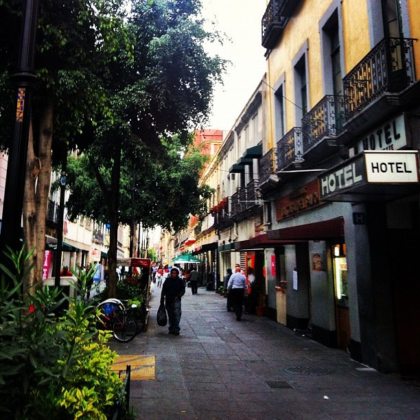 Calles del centro histórico #mexico #mextagram #travel #photoofheday #instagram