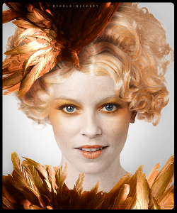 Effie Trinket - Catching Fire Look