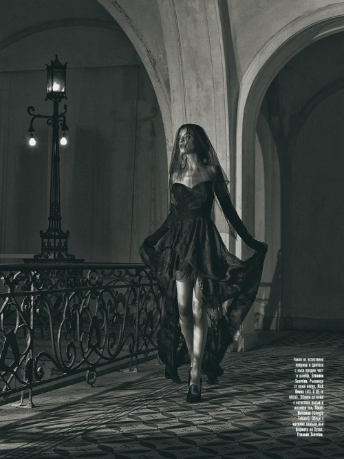 victorielle:  Black Magic Pirina Dzhupanova by Georgi Andinov for Amica Bulgaria November 2012