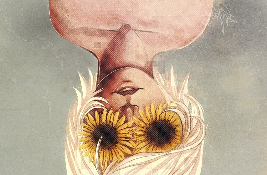 "thelookingglassgallery:  ""You Are My Sunshine"" by nivois"