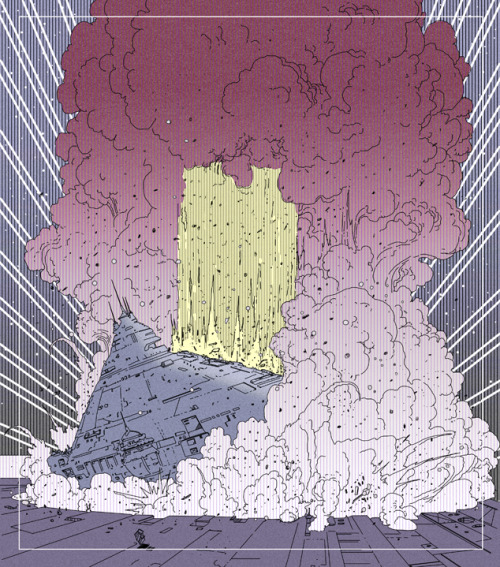 "Submission for ""The Incal"" panel contest fromhttp://theairtightgarage.tumblr.com/—Jean Girauds original artwork here:http://25.media.tumblr.com/tumblr_mebr9rUeAd1r807lbo1_500.png—You can vote by liking or reblogging the post here:http://theairtightgarage.tumblr.com/post/36911809267/submission-for-the-incal-pannel-contest-1-my"