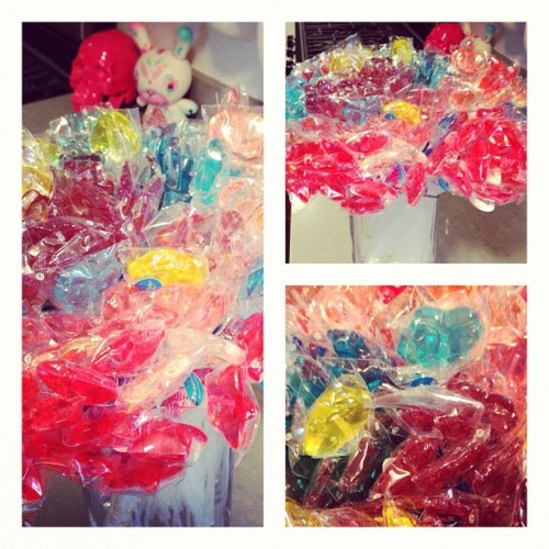 I may or may not have gone a little overboard. But I love these lollipops. #twinklepops