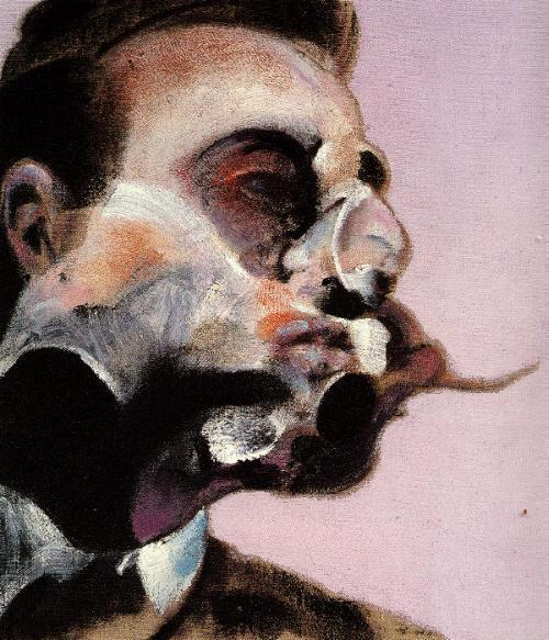 Visceral. Contorted. Scarred. Portrait of George Dyer by Francis Bacon