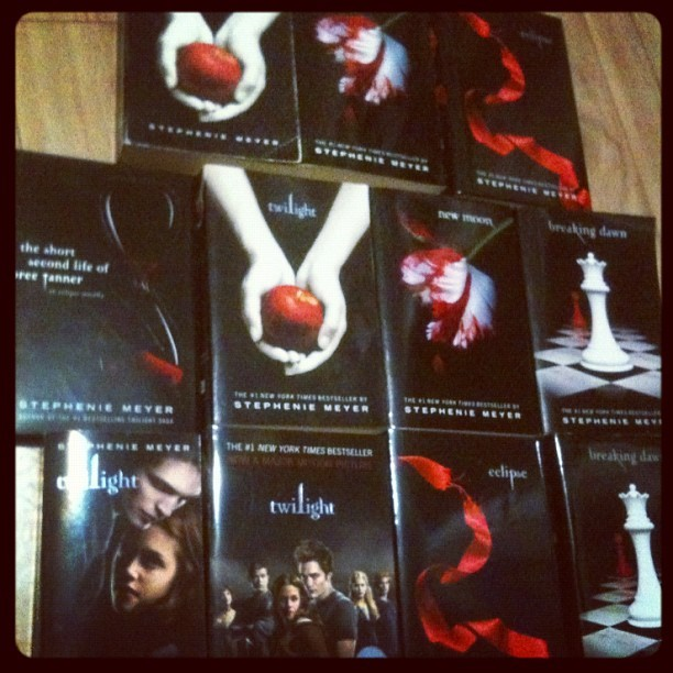 Mom, I love you, but you really need to stop buying me twilight books, this is getting out of control. Free books, anyone?