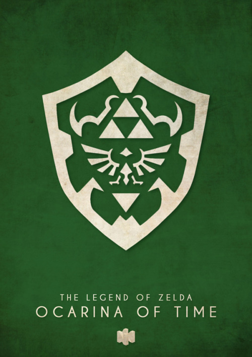 Poster inspired by The Legend of Zelda: Ocarina of Time