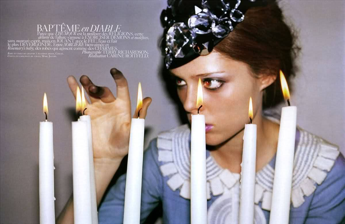 suicideblonde:  Coco Rocha photographed by Terry Richardson for Vogue Paris, December 2006
