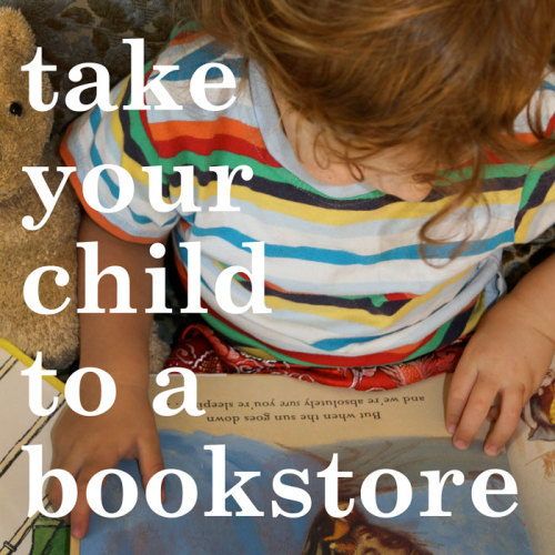 Today is Take Your Child to a Bookstore Day. Hope to see lots of smiling little faces at Powell's!