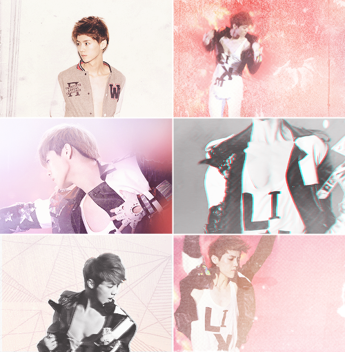 why luhan is perfect: his sturdy chest