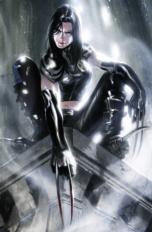 youngjusticer:  Laura. X-23, by Gabriele Dell'Otto.