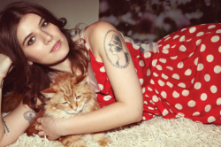 cattipi:  Meet The Cats SNACKS//BETHANY OF BEST COAST The feline lead of Best Coast finally tells all! Name: Snacks Astrological sign: Virgo Claws or no claws: claws, so I can scratch up all the chairs in my house When I'm not modeling… I am sleeping, eating, and running up and down the stairs. I would never… willingly take a bath Inside or outside? indoor! mom is scared someone will steal me if I go outside. My nickname is… Snakes. My favorite meal is… iams proactive pate cat food My guilty pleasure is… pirates booty
