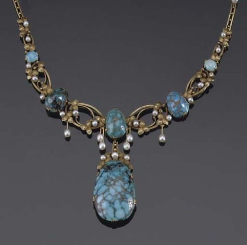 omgthatdress:  Necklace 1910 Christie's
