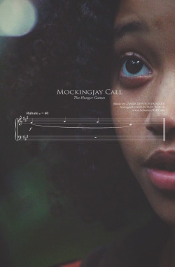 braidsandarrows:  The Hunger Games sheet music - Mockingjay Call (Rue's theme)