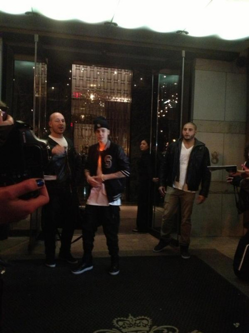 Justin in Toronto tonight
