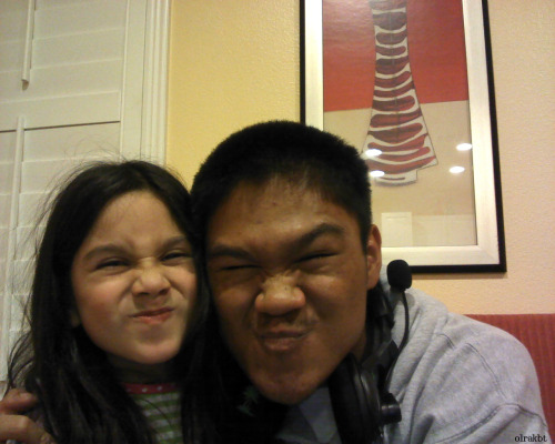 Hey, Look It's Me And My Cousin Hahaha :D