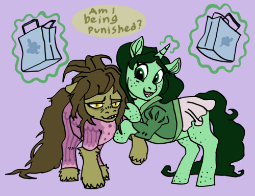 A bit of Bramble and Waterlilly's shopping adventure ((In reference to this cute pic by Waterlillyart. What a sweetheart!)) ((Expect more!))