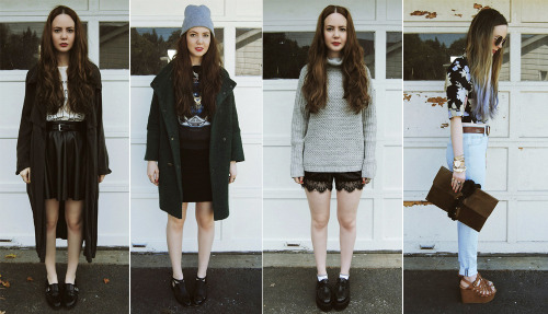 thestyleline:   STACEY BELKO, 24, UNITED STATES STACEY'S STYLE: Eclectic? That's always the hardest question for me to answer. I like trendy, grungy, bohemian, vintage.. I like it all mixed together. As far as signature pieces, I'd have to say beanies. I wear beanies far too often INSPIRATION: Other bloggers for sure. The internet & blogs have made is so easy to access inspiration from normal girls and street style all across the globe. FASHION + STYLE: Completely. Style is such a personal thing. It's an individuals take on fashion. THE MOST STYLISH CITY IN THE WORLD: I'll always be having a fashion love affair with NY. I fell in love on my first visit when I was 13 and the rest is history. I just think that being from such a small town in middle America, the impact that NY had on me at 13 was huge because it let me see that fashion actually existed in real life and not just in magazines. HOLIDAY WISH-LIST: Completely non-fashion related, but I desperately need a new iPhone. My current one is 3 years old and on the brink of death.  WHAT ARE YOU THANKFUL FOR? My friends, family, and cat. FALL FAVORITES: Outerwear! I love coats.    ——————————————————————————————————- like what you see? link up with stacey by checking out her site here:    devorelebeaumonstre.com