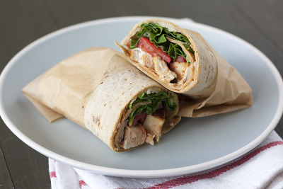 Creole Chicken Wraps with recipe (link)