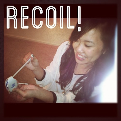 Don't untangle, RECOIL! Available at Wrappled.com #recoil #rewind #instagram #igdaily #potd #followgram #gadgets #chicgeek #recoilwinder #statigram #organize #picoftheday #techgifts #easy #timesaver #coolgadgets #stockingstuffer #mini #earbuds #wires #cables #handy #giftsforhim #giftsforher