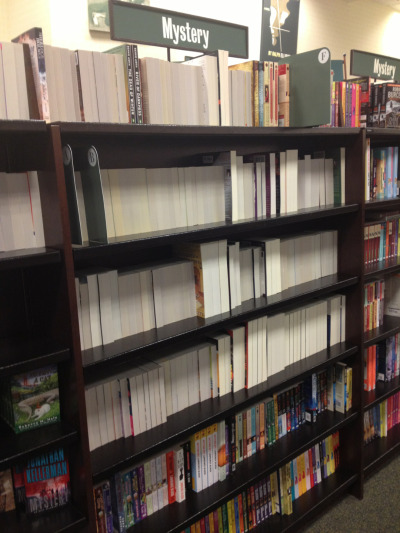 bleerios:  bleerios:  Look what someone did to our mystery section. LOOK AT IT.  WHY ARE YOU STILL REBLOGGING THIS, THIS IS THE OPPOSITE OF WHAT I WANTED.