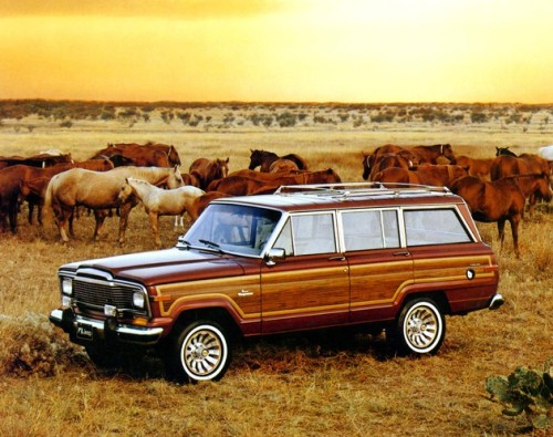 Jeep Grand Wagoneer. My dream car. I just fell more in love with Mr. Mayer.