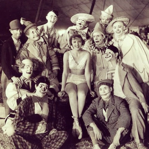 Sometimes I dream of running away and joining a 1920s circus.