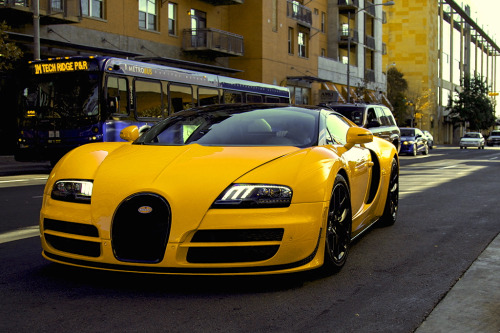 artoftheautomobile:  Bugatti Veyron Grand Sport Vitesse Yeah, uh huh, you know what it is… (Credit: Merfin)