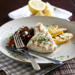 Grilled Blue Marlin Steak-2 by Sonia! The Healthy Foodie on Flickr.