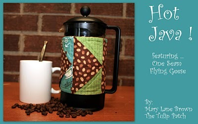French Press Sleeve {How to} Found at: modabakeshop