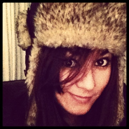 Fluffy hat!!!! Gotta get me one of these….think my bro would notice if I stole it!?! LoL